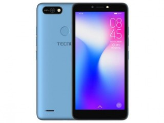 "Ecno POP 2 Power (B1P) 5.5"" Android 8.1, 4000mAh Battery, 16GB ROM+1GB RAM, 8+5MP Camera, Fingerprint, Face ID - City Blue"