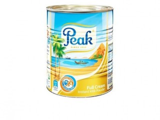 Peak Instant Full Cream Milk Powder Tin - 400g