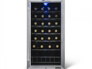 27 Bottle Single Zone Freestanding Wine Refrigerator